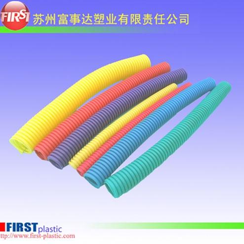 太仓塑料波纹管(彩色)